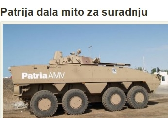 Croatian Institutions are bound to investigate and institute legal proceedings against all those who in any way whatsoever participaded in the unlawful purchase of armoured vehicles from the company Patria