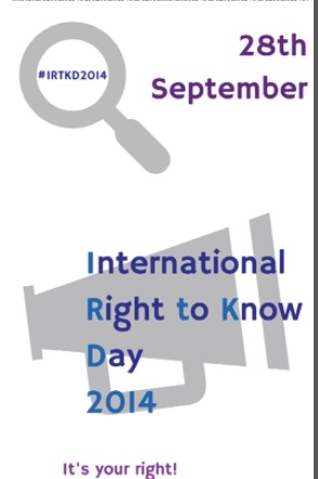 Priopćenje za medije povodom Međunarodnog dana prava na pristup informacijama
